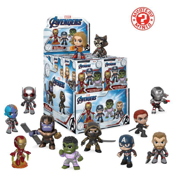 Avengers Endgame Mystery Minis Vinyl Mini Figures (on demand)
