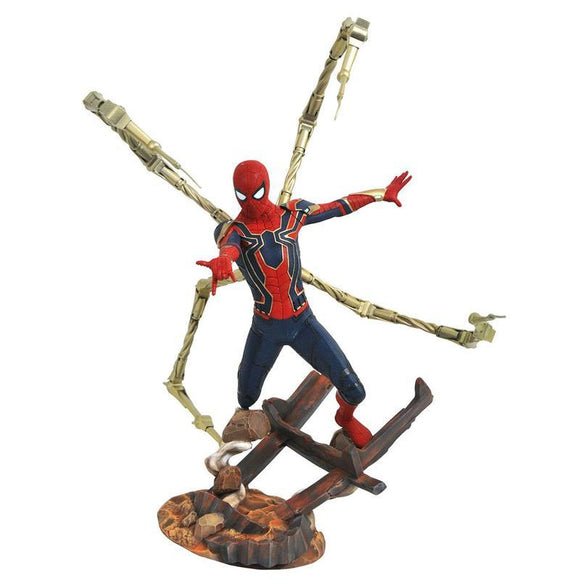 Avengers Infinity War Marvel Premier Collection Statue Iron Spider-Man (on demand)