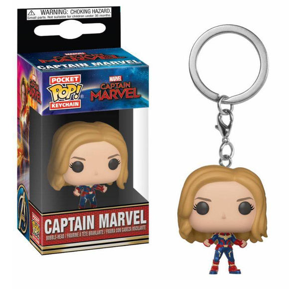 Captain Marvel Pocket POP! Vinyl Keychain Captain Marvel