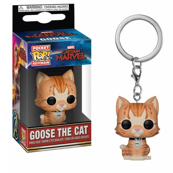Captain Marvel Pocket POP! Vinyl Keychain Goose the Cat