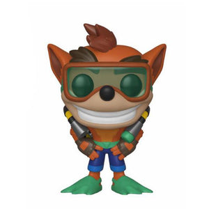 Crash Bandicoot POP! Games Vinyl Figure Scuba Crash (pre-order)