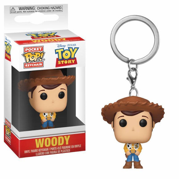 Default Title Toy Story Pocket POP! Vinyl Keychain Woody