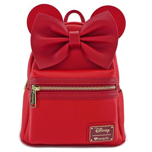 Disney by Loungefly Backpack Red Minnie Ears & Bow Red (pre-order)