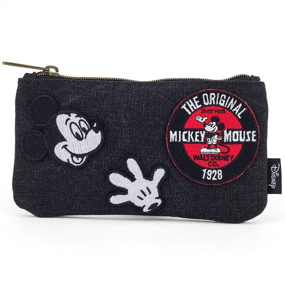 Disney by Loungefly Coin/Cosmetic Bag Mickey Patches (pre-order)