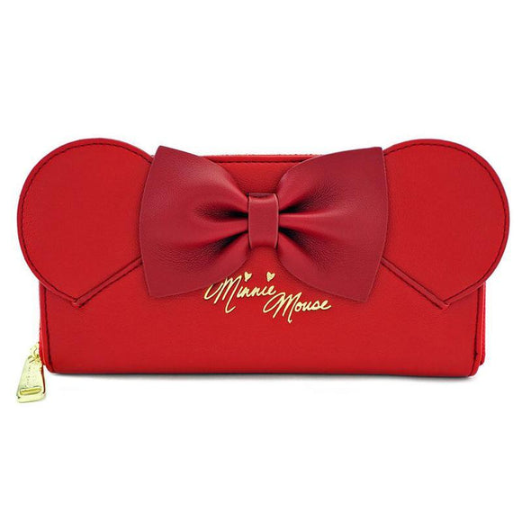 Disney by Loungefly Wallet Red Minnie Ears & Bow (pre-order)