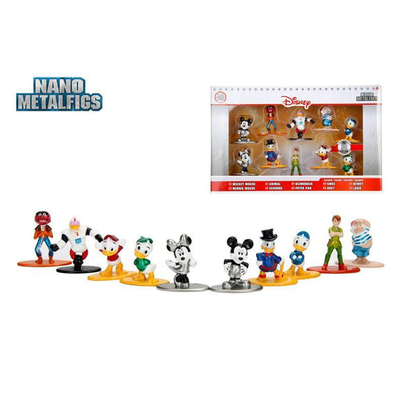 Disney Nano Metalfigs Diecast Mini Figures 10-Pack Wave 2