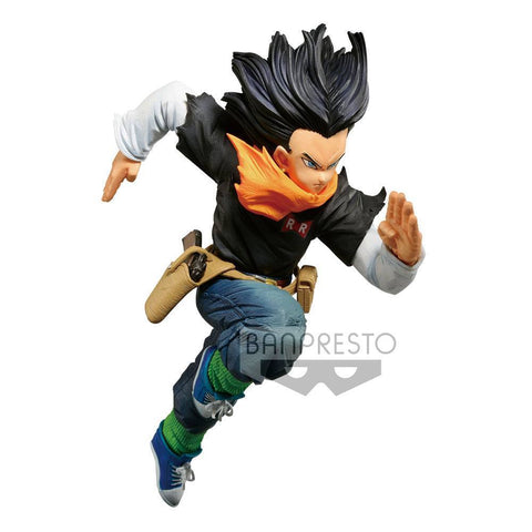 Dragonball Z BWFC PVC Statue Android 17 Normal Colour Ver.