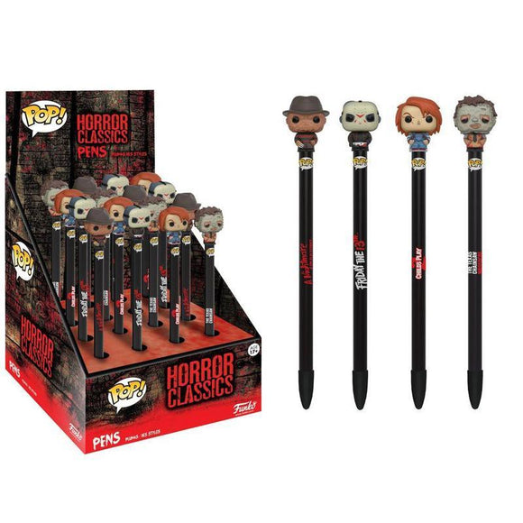 Freddy Horror Classics POP! Homewares Pens with Toppers (pre-order)