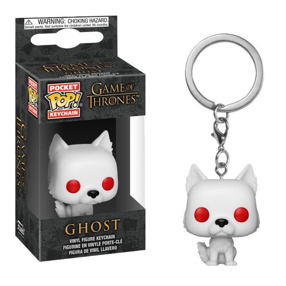 Game of Thrones Pocket POP! Vinyl Keychain Ghost
