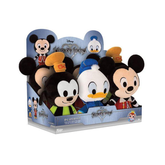 Goofy Kingdom Hearts Plushies - Goofy, Mickey Mouse or Donald Duck