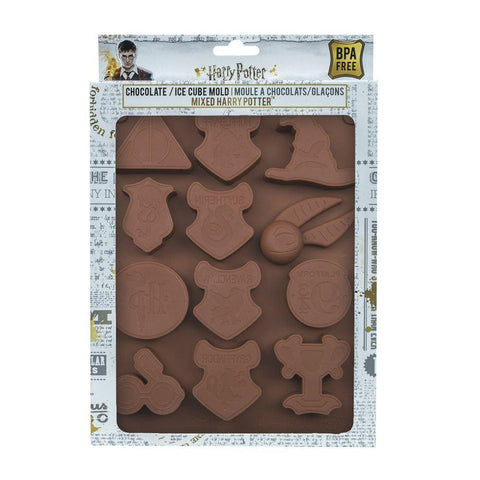 Harry Potter Chocolate/Ice Cube Mould Logos
