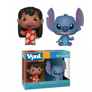 Lilo & Stitch VYNL Vinyl Figures 2-Pack Lilo & Stitch