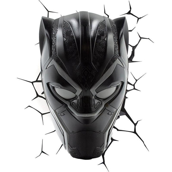 Marvel 3D LED Light Black Panther (pre-order)