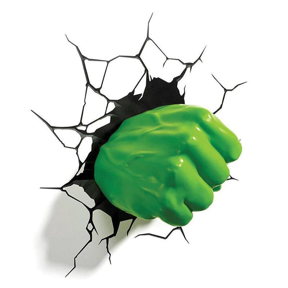 Marvel 3D LED Light Hulk Fist (pre-order)
