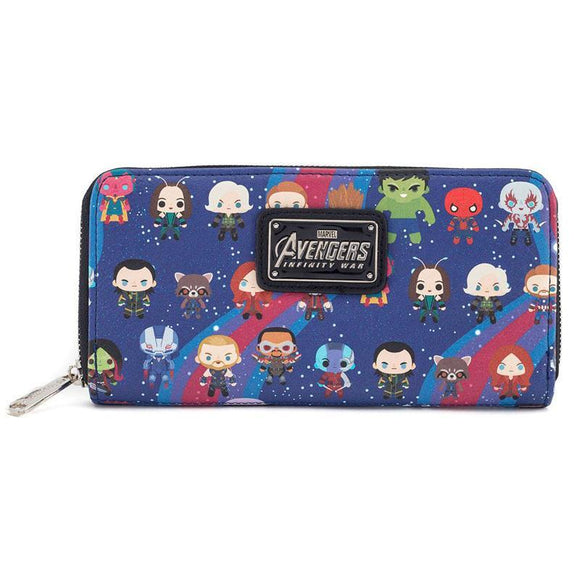Marvel by Loungefly Wallet Avengers Infinity War Chibi Characters (pre-order)