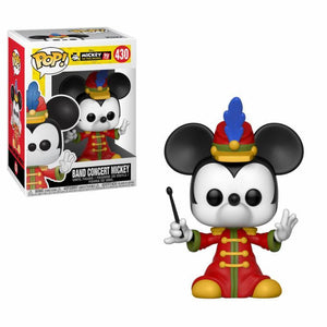 16dd72b492 Mickey Mouse 90th Anniversary POP! Disney Vinyl Figure Band Concert