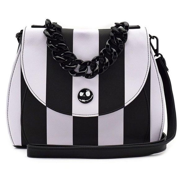 Nightmare before Christmas by Loungefly Crossbody Bag NBC Striped (pre-order)