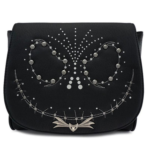 Nightmare before Christmas by Loungefly Crossbody Bag Studded Jack (pre-order)
