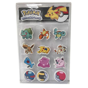 Pokemon Erasers 12-Pack