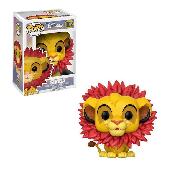 Pop! Disney: The Lion King - Simba with Leaf Mane (pre-order)