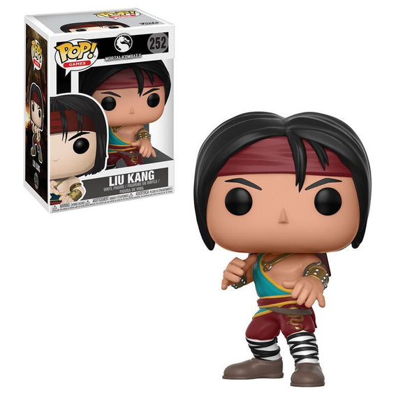 Pop! Games: Mortal Kombat X - Liu Kang (damaged)