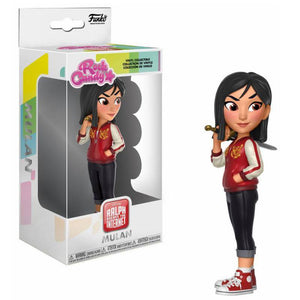 Ralph Breaks the Internet Rock Candy Vinyl Figure Mulan