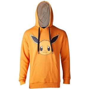 S Pokémon Ladies Hooded Sweater Eevee Brushed