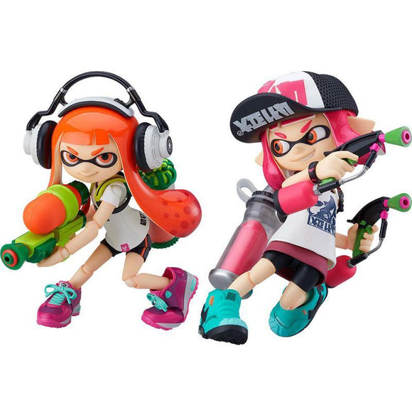 Splatoon / Splatoon 2 Figma Action Figures Splatoon Girl (pre-order)