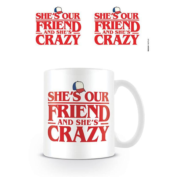 Stranger Things (Shes Our Friend) Coffee Mug