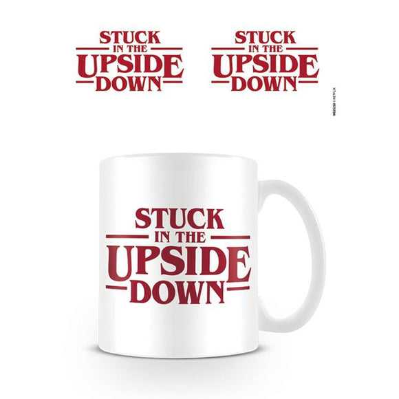 Stranger Things (Stuck In The Upside Down) Coffee Mug