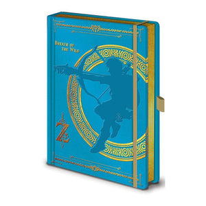 The Legend of Zelda: Breath of the Wild Premium Notebook