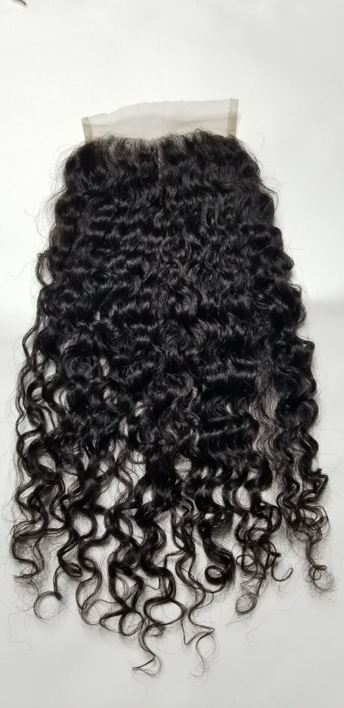 "Burmese Curly Closure 5×5 (18"")"