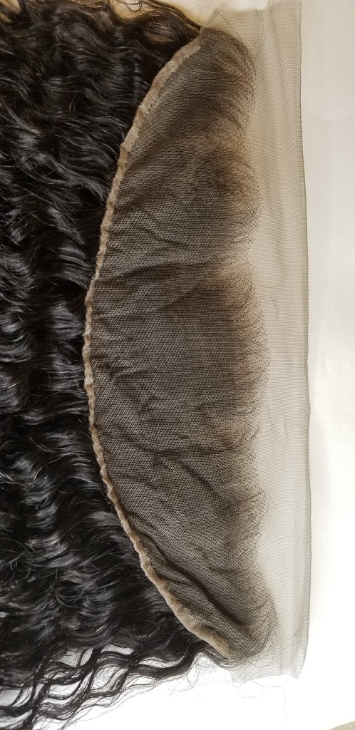 Bundle Deal with (1) 13×4  Burmese Curly Frontal