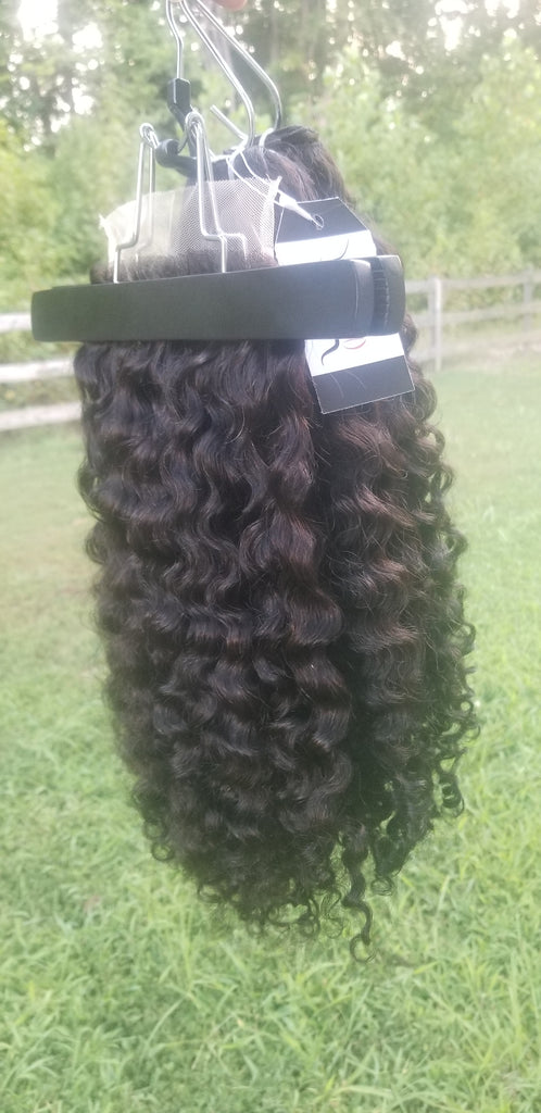 Burmese curly bundle kit