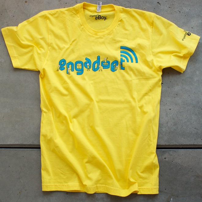 Engadget Minimen Yellow