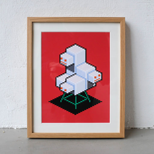 Water Tank Bot Art Print