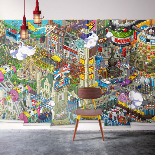 London Mural Wallpaper