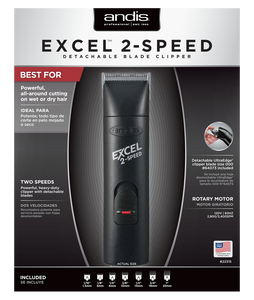 Andis Excel 2-Speed Detachable Blade Clipper