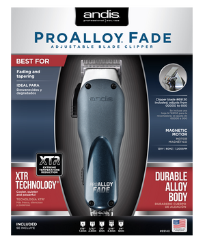 Andis ProAlloy™ Fade Adjustable Blade Clipper