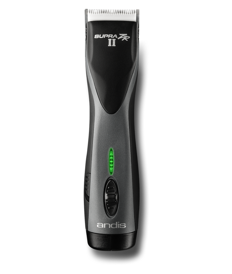 Andis Supra ZR  II Cordless Detachable Blade Clipper with Removable Battery