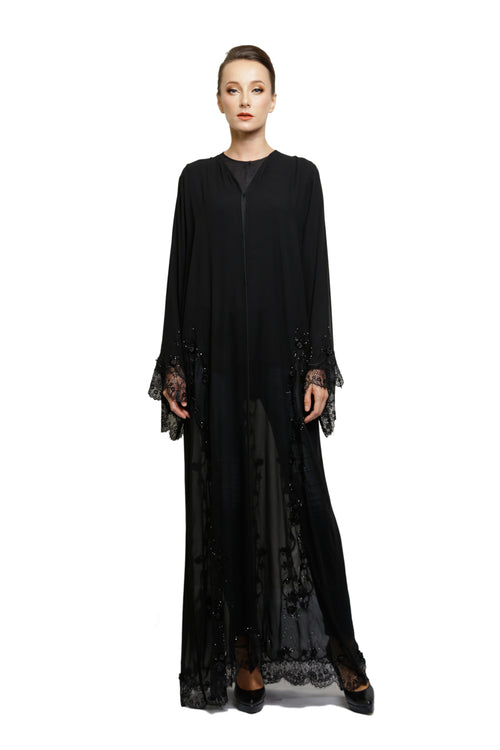 Evening Rose Abaya