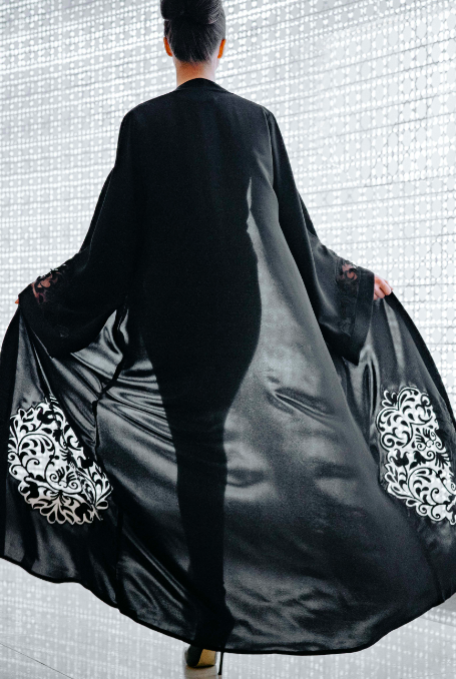 Marilena Abaya in Black