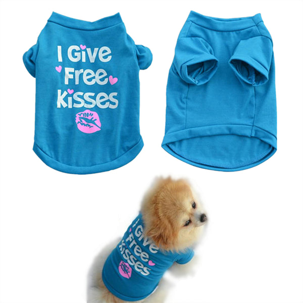 Summer Shirt Small Dog Cat Pet Clothes - fashionemy-new