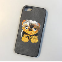 dog pet cover for apple iPhone 6 6s plus 5.5 iPhone7 7plus 8 8P X soft - fashionemy-new