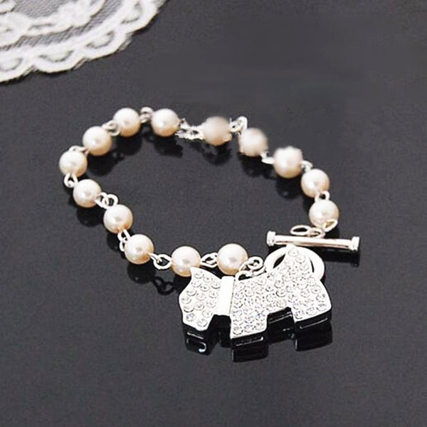 Shiny Dog Bracelets for girl - fashionemy-new