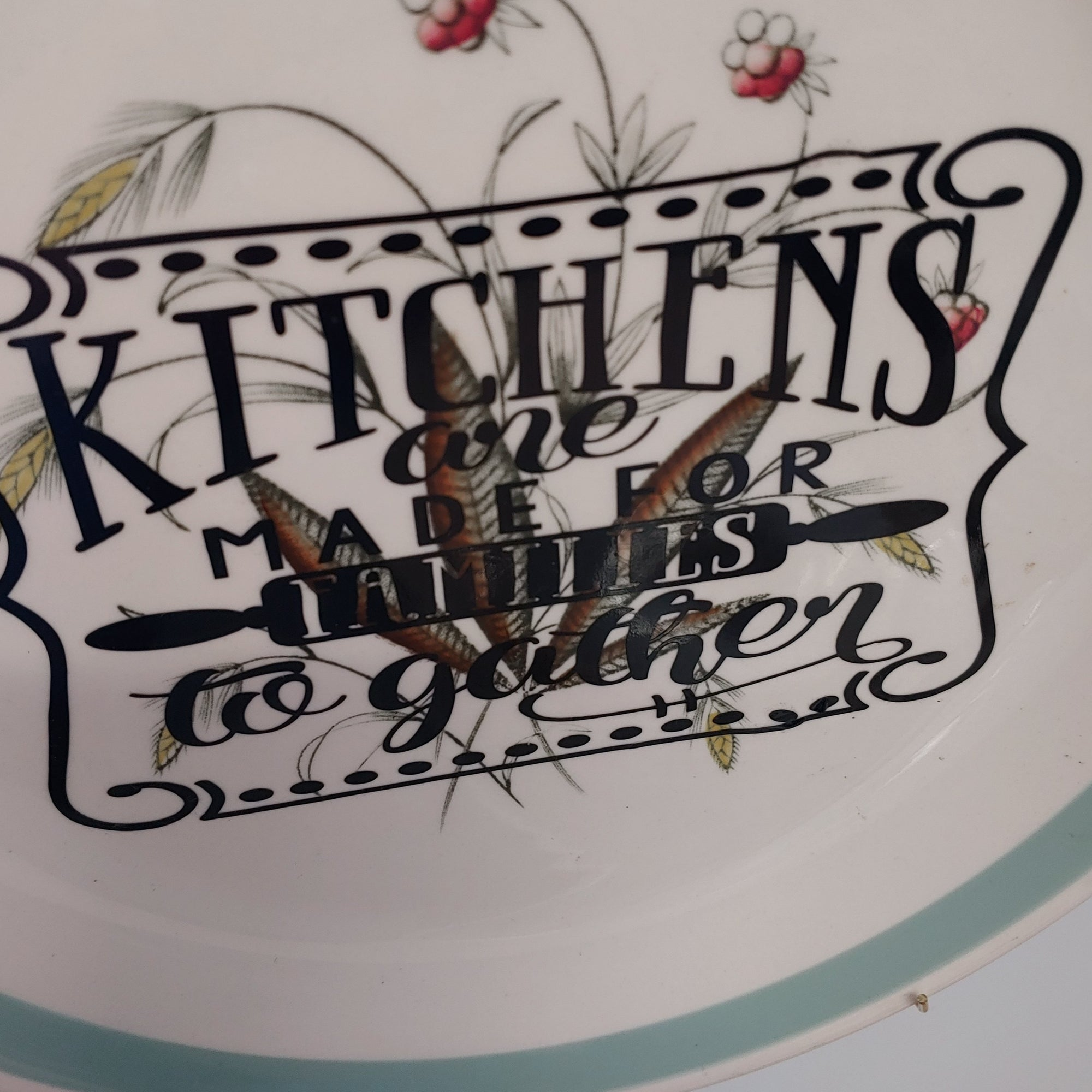 Kitchens plate - Phoenix Remix