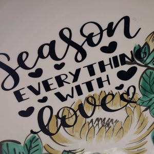 Season Everything plate - Phoenix Remix