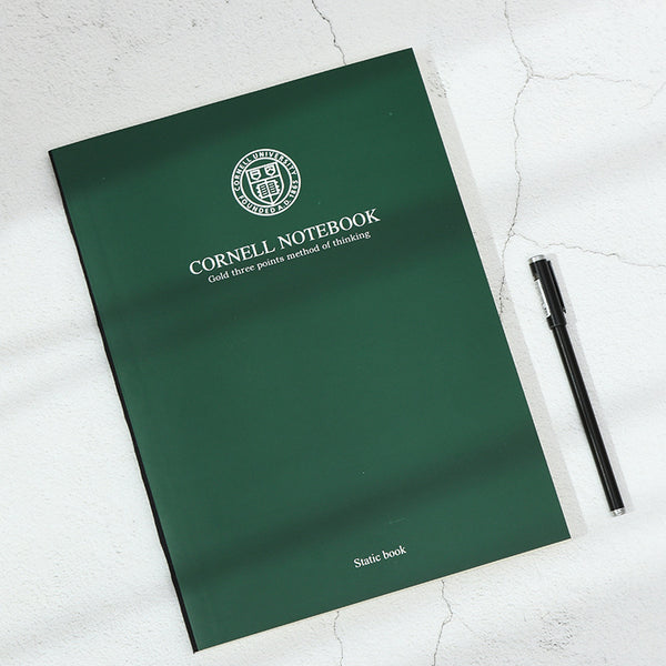 1 Piece A4 Cornell Notebook 80 Sheet Paper kiniyo stationary 3849p