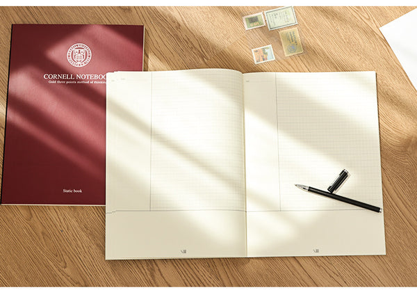 1 Piece A4 Cornell Notebook 80 Sheet Paper kiniyo stationary 3853p