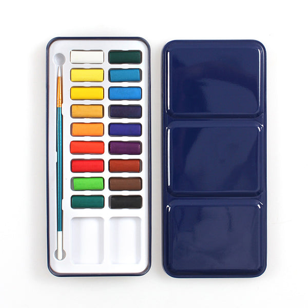 1 Piece Solid Water Color Painting Set Writing & Drawing kiniyo stationary 3912p